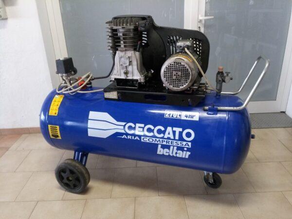 Compressore trifase Ceccato Beltair 270L-4HP